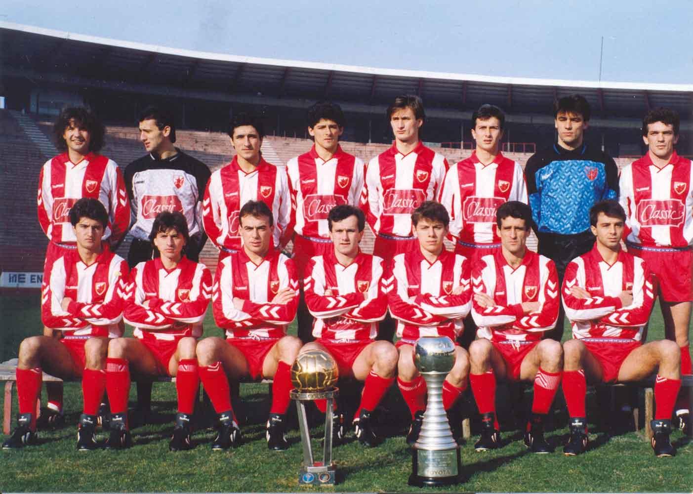 FK Crvena Zvezda - Page 5 Crvena-Zvezda-1990-1991-ve